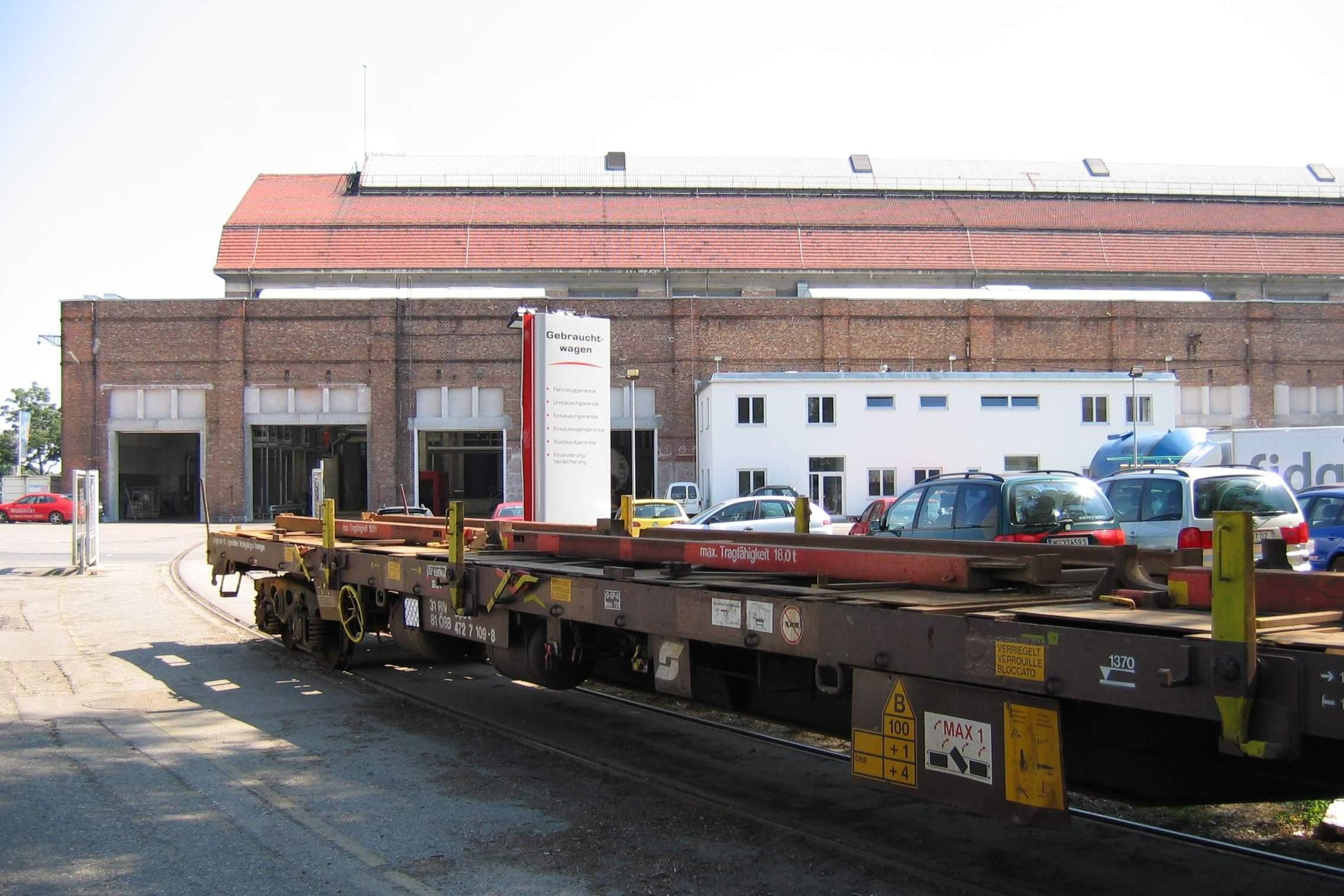 LIEGLER TAKEH ARCHITEKTEN Projekt AVR Büro und Zug Zufahrt