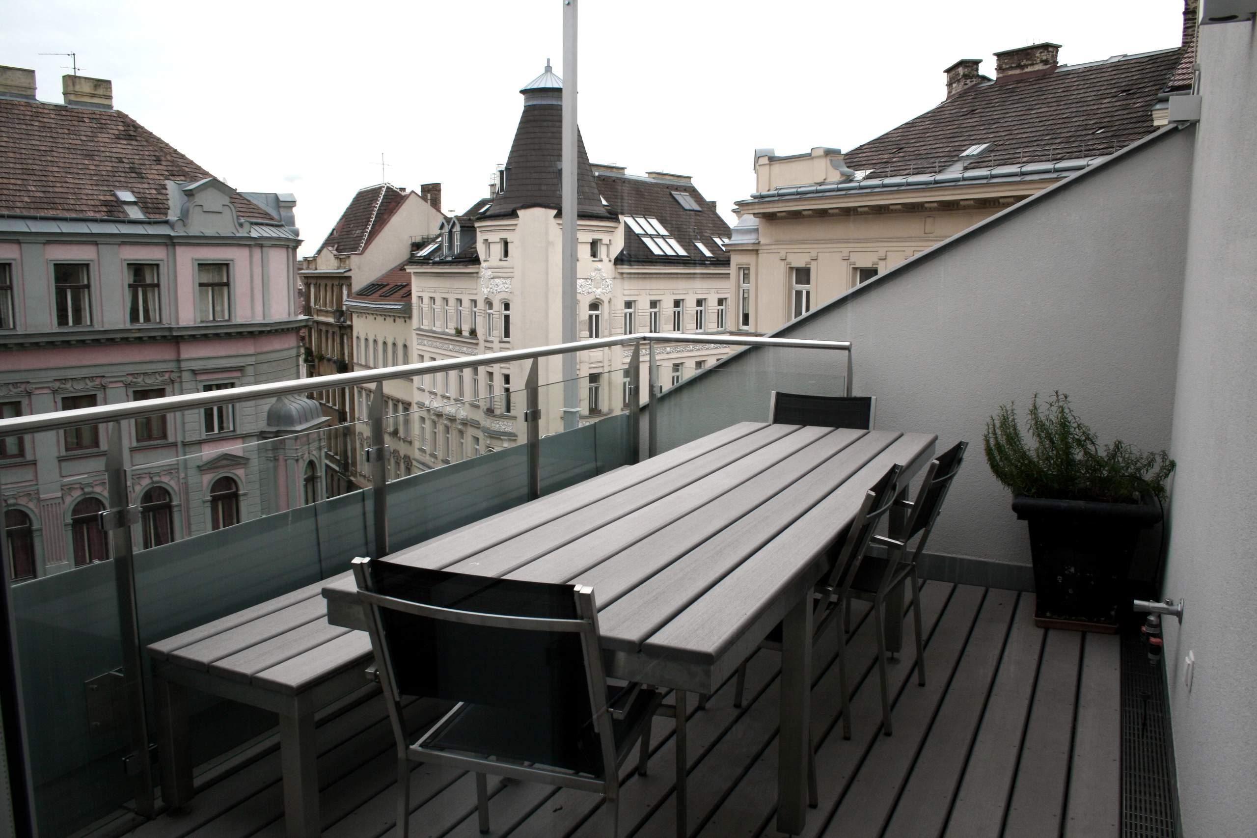 LIEGLER TAKEH ARCHITEKTEN Projekt Dürergasse Terrasse