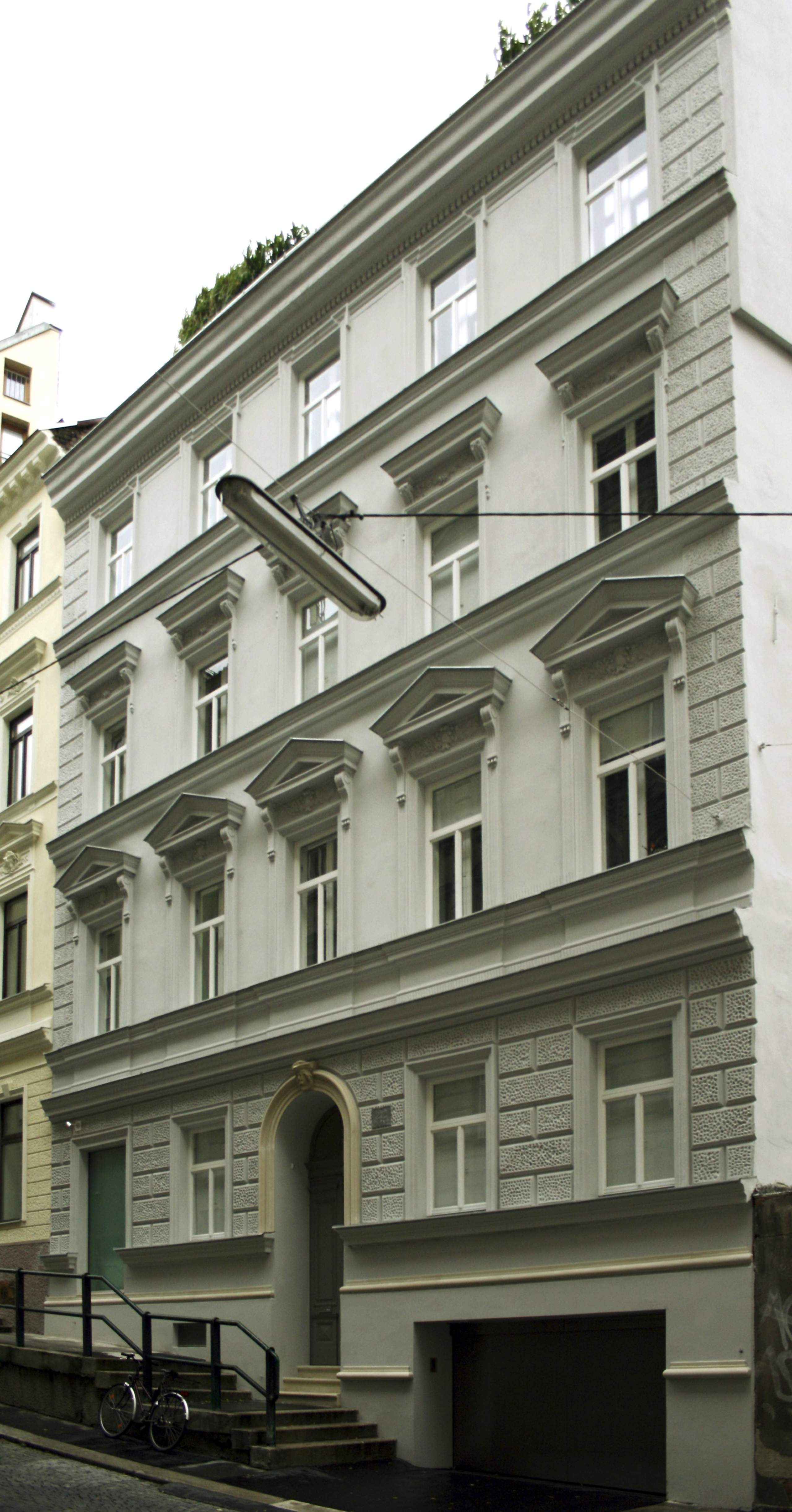 LIEGLER TAKEH ARCHITEKTEN Projekt Dürergasse Fassade