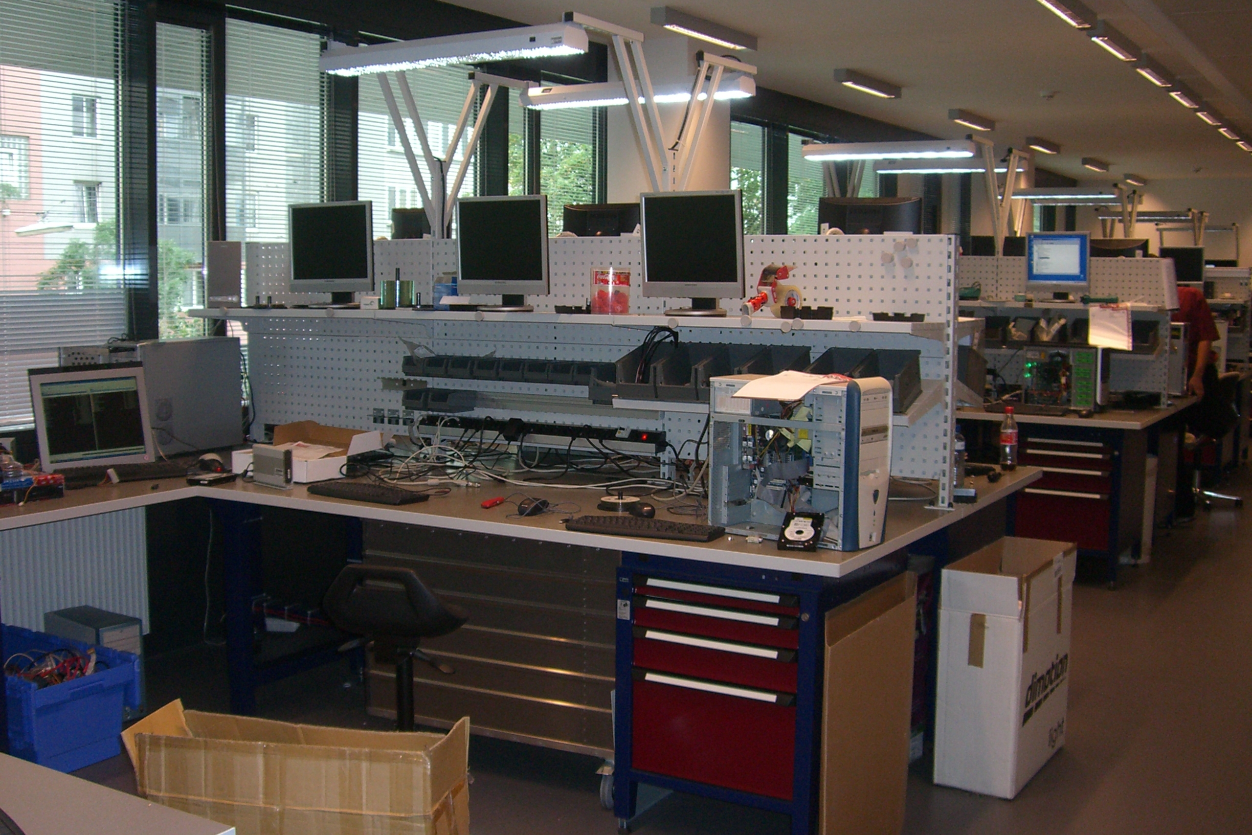 LIEGLER TAKEH ARCHITEKTEN Projekt DiTech Produktion