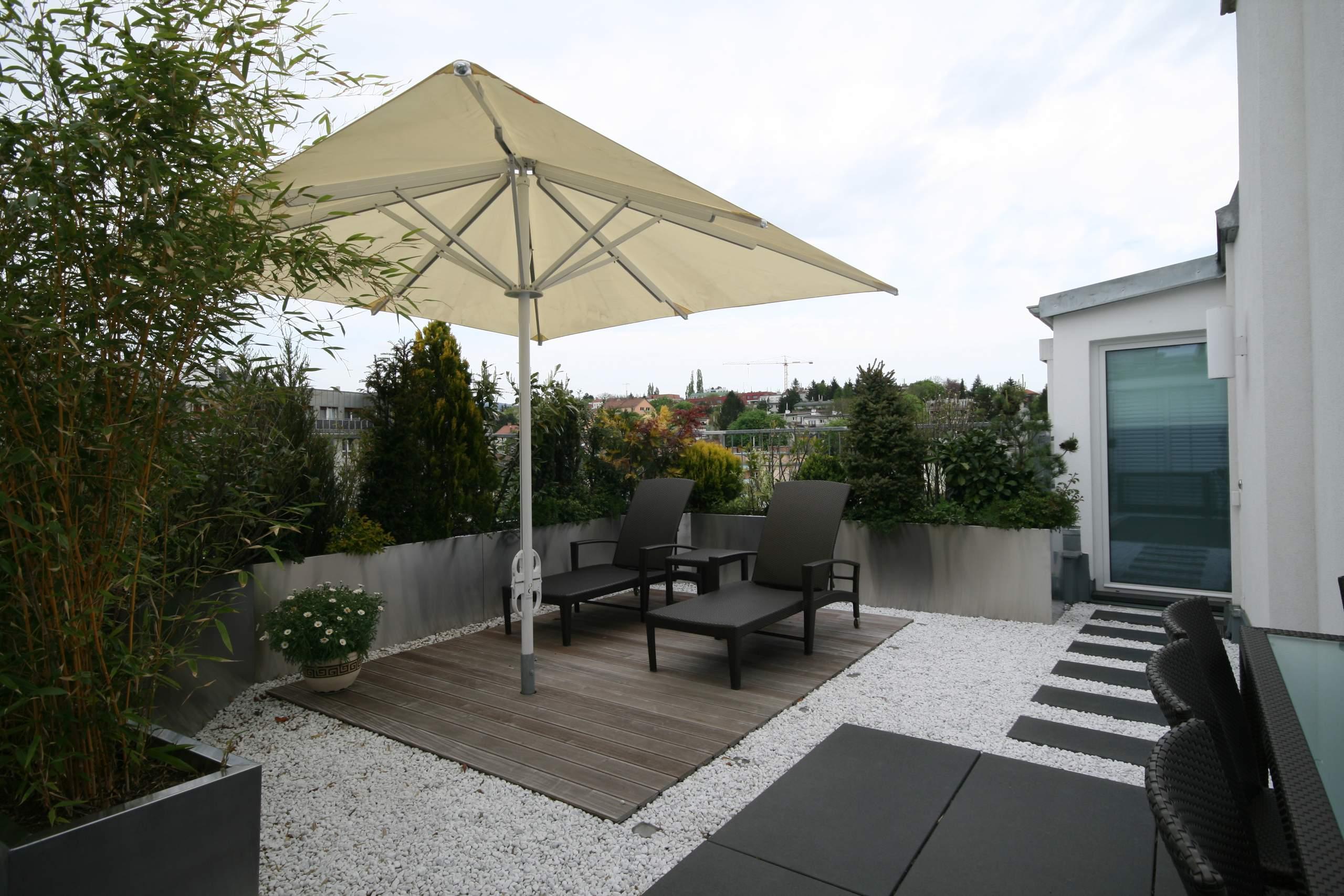 LIEGLER TAKEH ARCHITEKTEN Projekt Erndtgasse Dach Terrasse