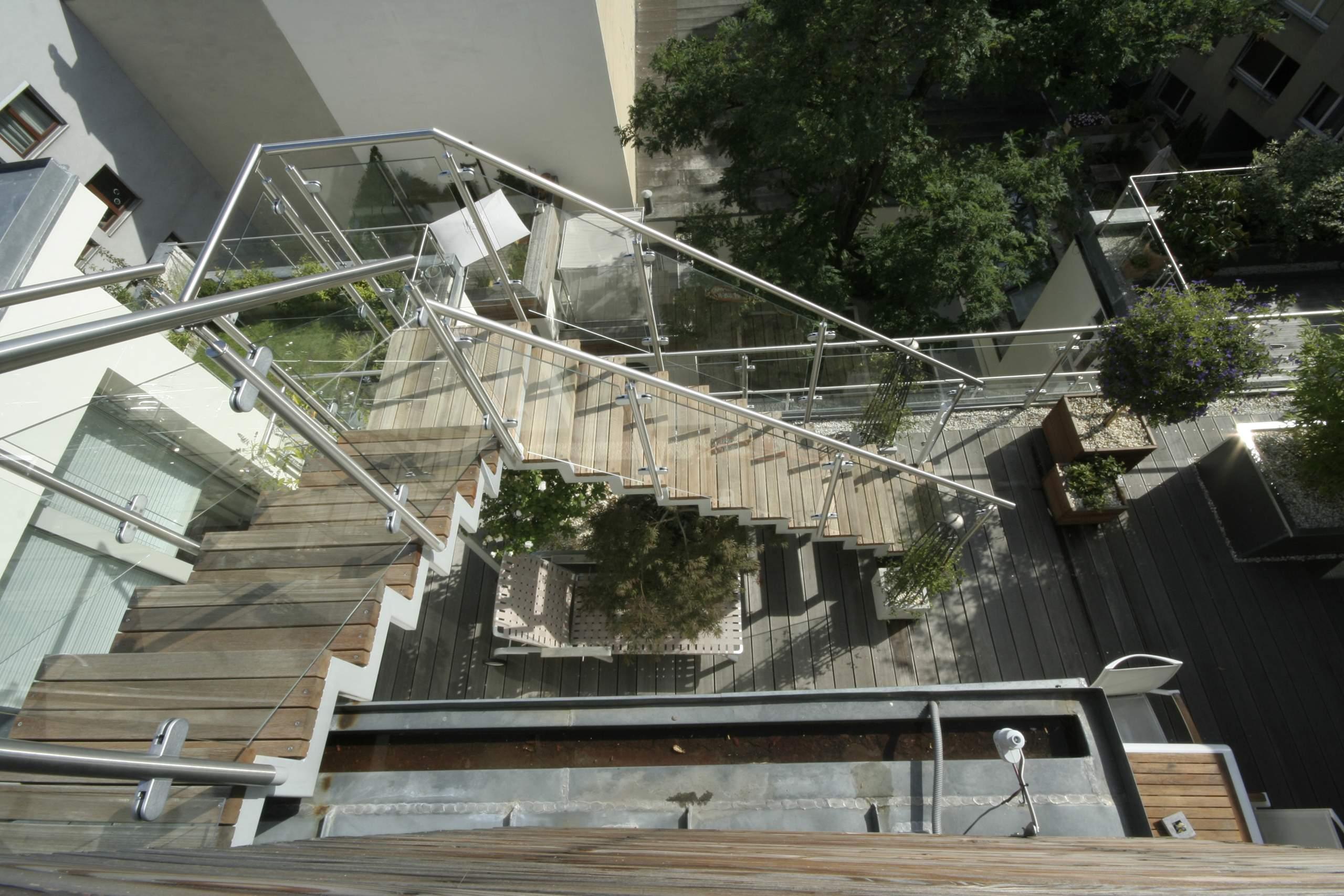 LIEGLER TAKEH ARCHITEKTEN Projekt Franzensgasse Terrasse