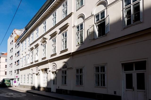 LIEGLER TAKEH ARCHITEKTEN Projekt Franzensgasse Straßenfassade