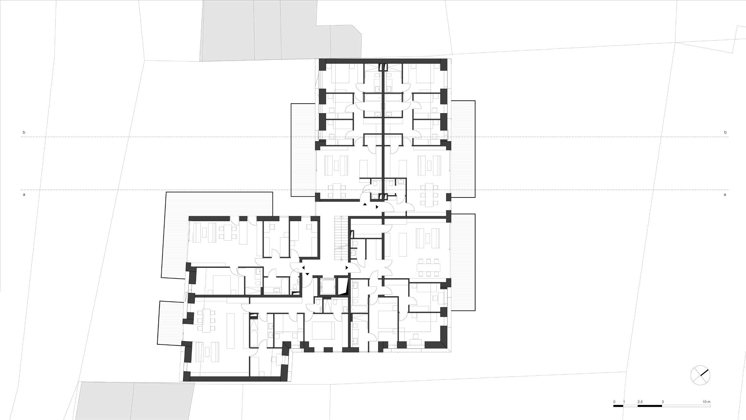 LIEGLER TAKEH ARCHITEKTEN Projekt Gersthoferstraße Plan