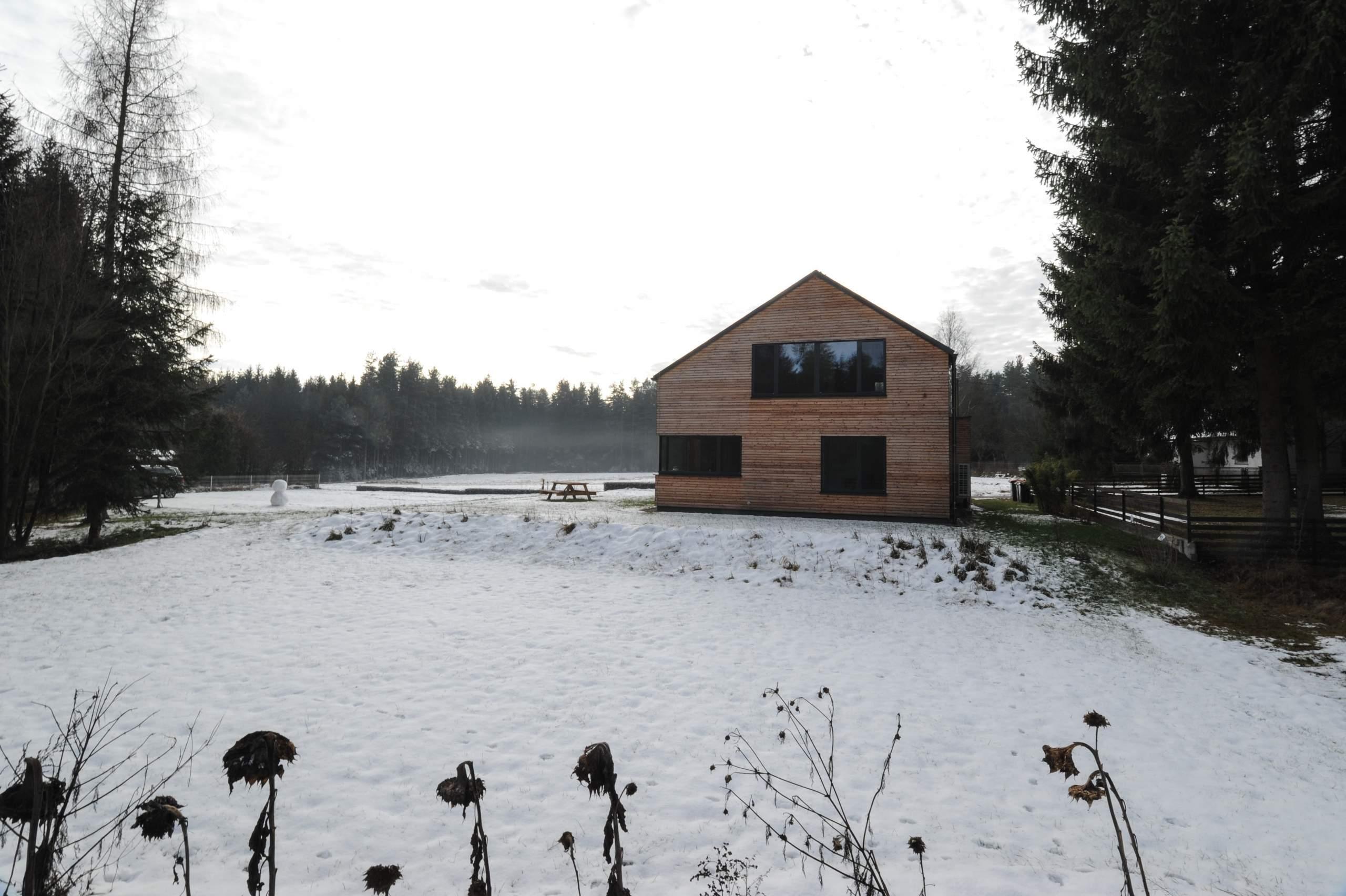 LIEGLER TAKEH ARCHITEKTEN Projekt Gopprechts Haus im Schnee