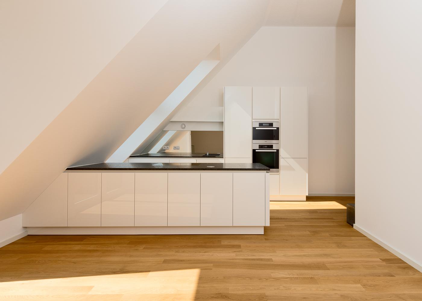 LIEGLER TAKEH ARCHITEKTEN Projekt Haizingergasse Wohnung Küche