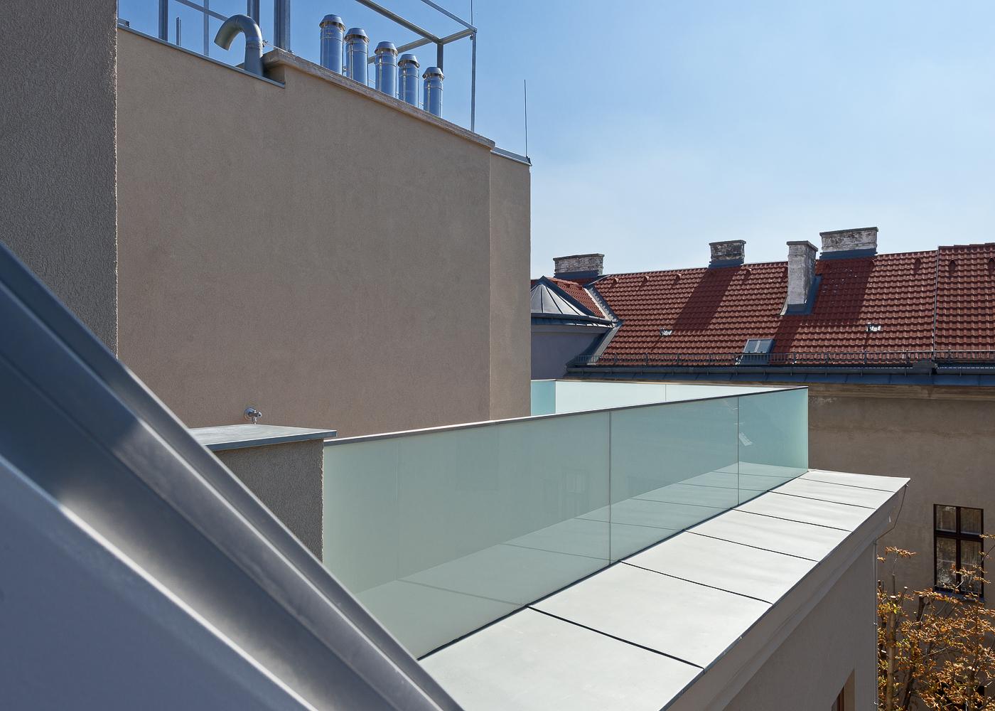 LIEGLER TAKEH ARCHITEKTEN Projekt Haizingergasse Terrasse
