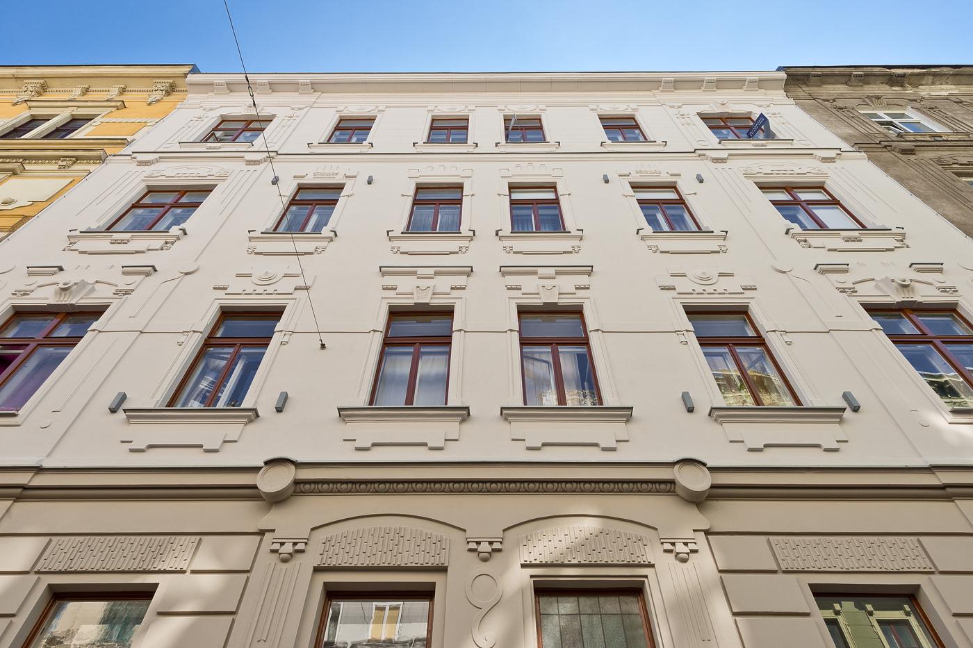 LIEGLER TAKEH ARCHITEKTEN Projekt Haizingergasse Fassade