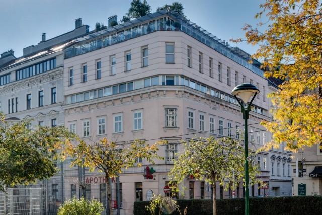 LIEGLER TAKEH ARCHITEKTEN Projekt Hofmühlgasse Straßen Fassade