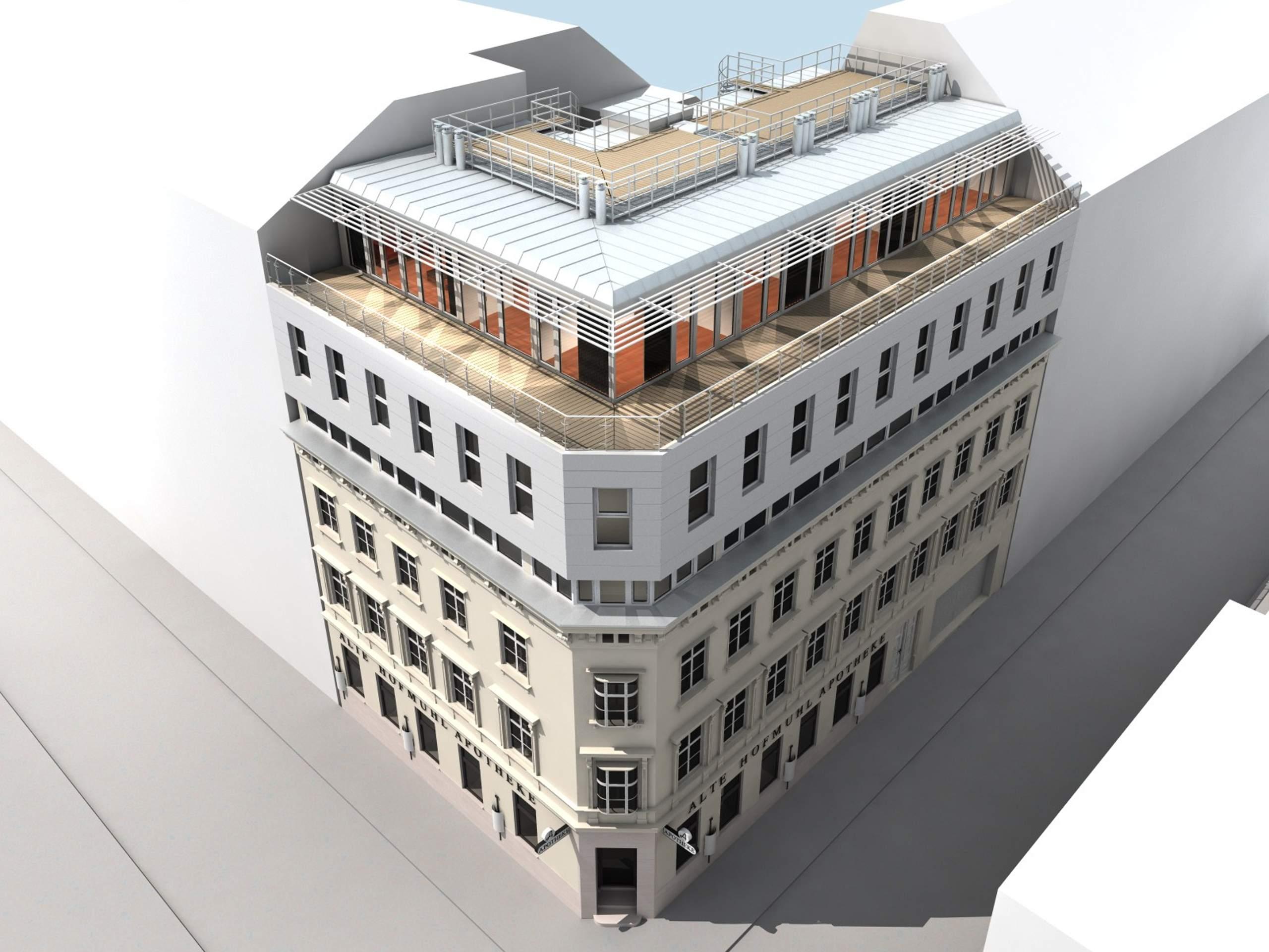 LIEGLER TAKEH ARCHITEKTEN Projekt Hofmühlgasse Visualisierung