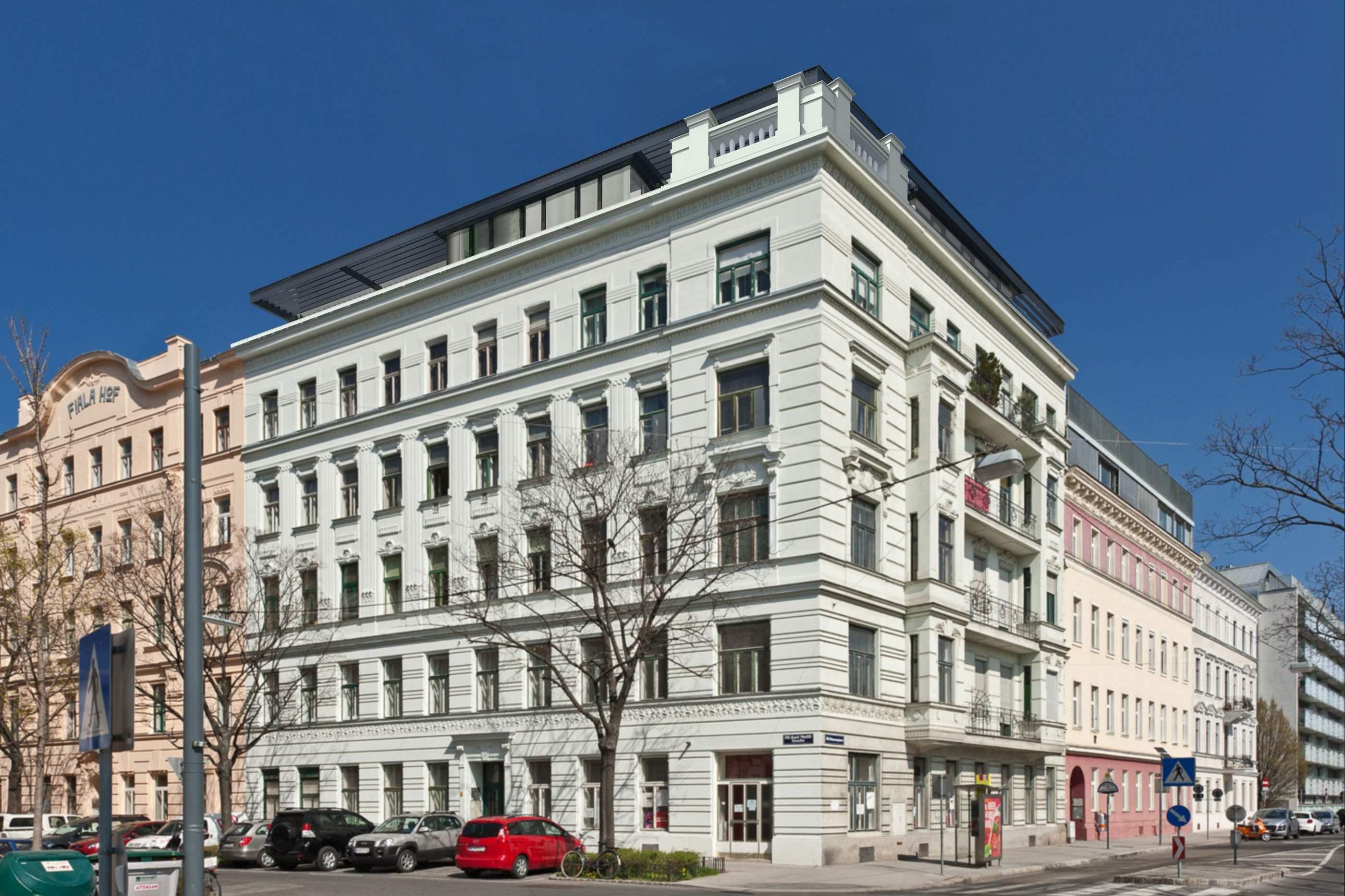 LIEGLER TAKEH ARCHITEKTEN Projekt Karl Meißl Straße Fassade