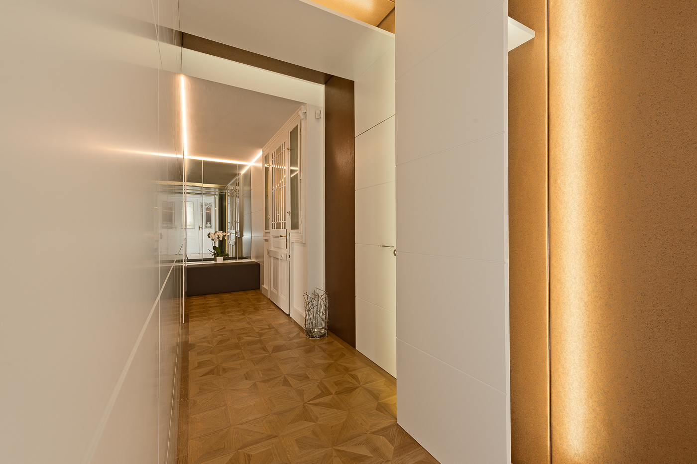 LIEGLER TAKEH ARCHITEKTEN Projekt Kohlmarkt Büro Vorraum