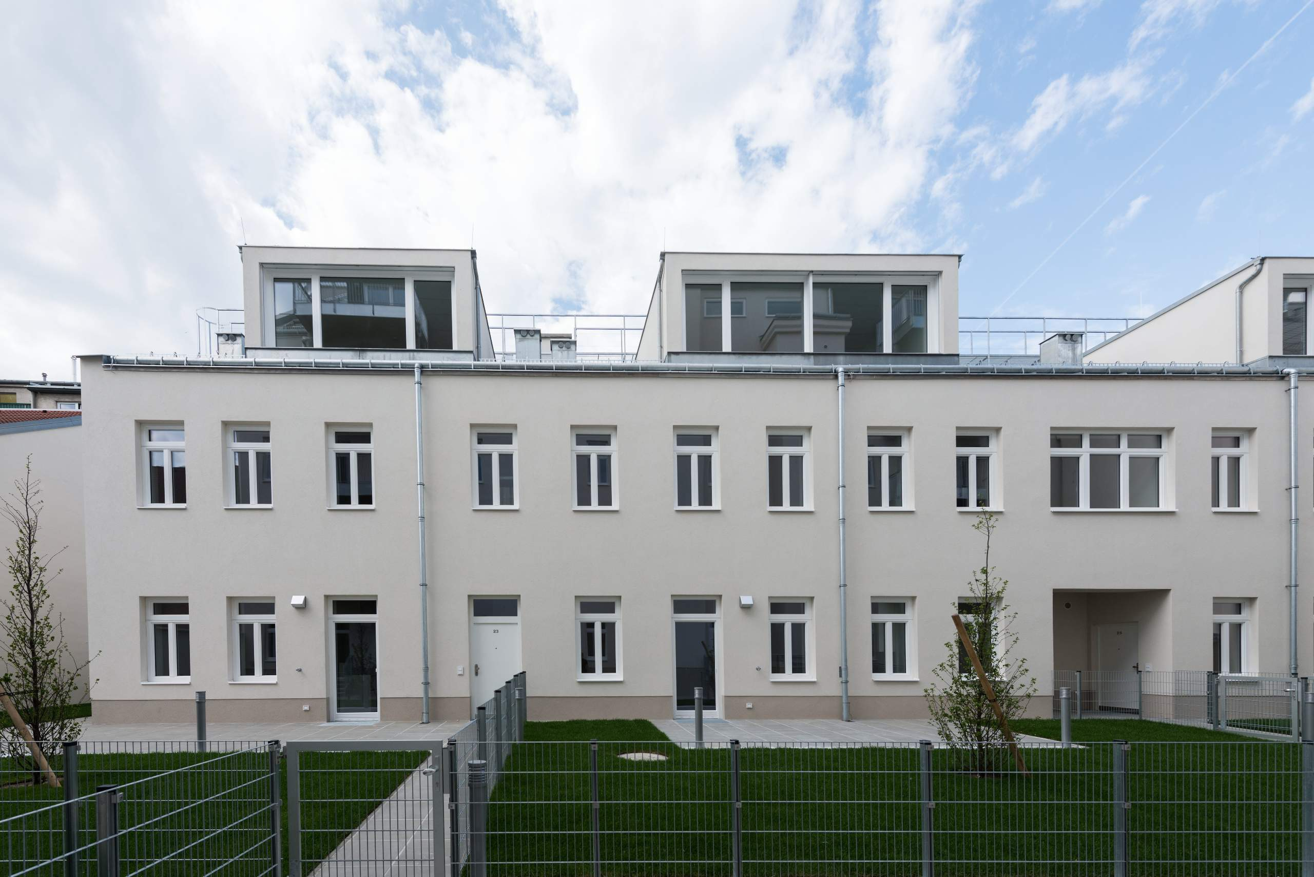 LIEGLER TAKEH ARCHITEKTEN Projekt Ostmarkgasse Hoftrakt Fassade