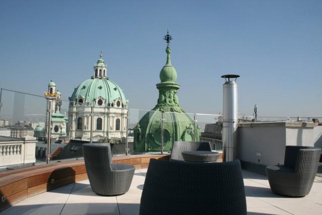 LIEGLER TAKEH ARCHITEKTEN Projekt Paniglgasse Wohnung Dachterrasse