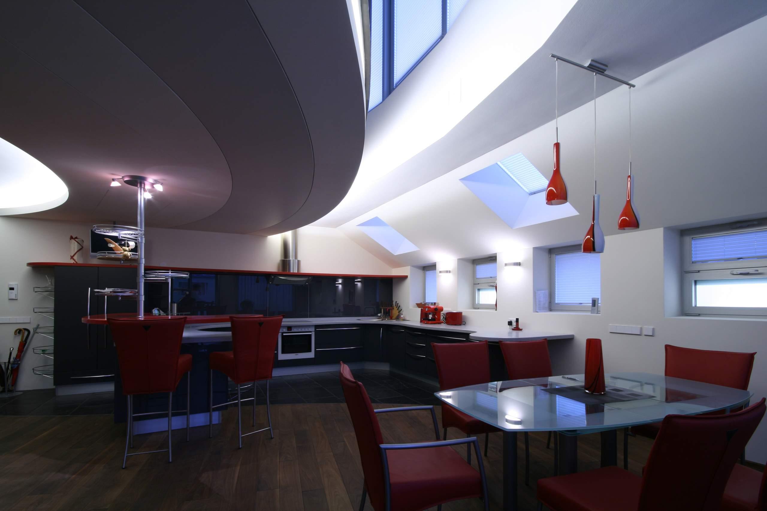 LIEGLER TAKEH ARCHITEKTEN Projekt Paniglgasse Wohnung Küche