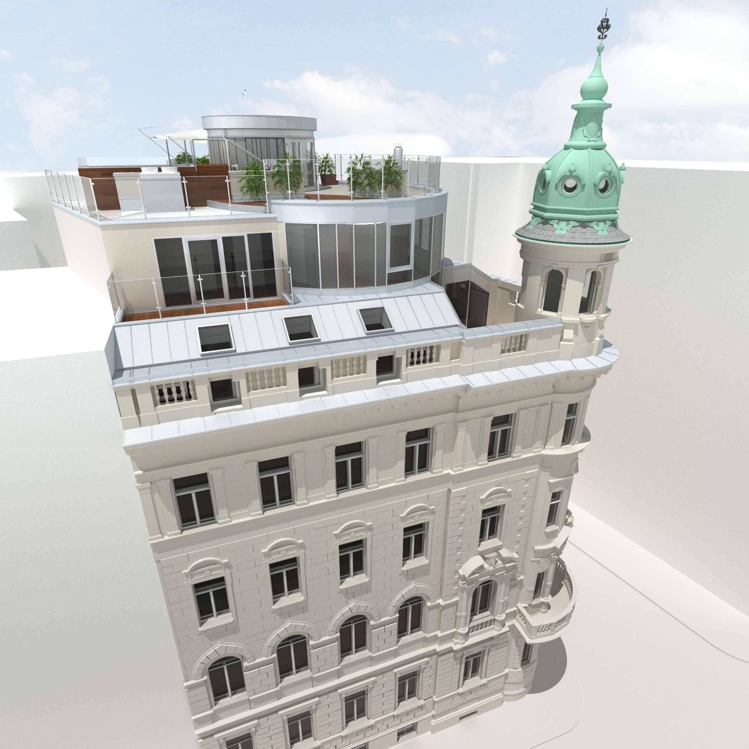 LIEGLER TAKEH ARCHITEKTEN Projekt Paniglgasse Visualisierung