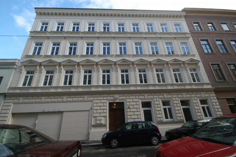 LIEGLER TAKEH ARCHITEKTEN Projekt Rüdigergasse Straßen Fassade