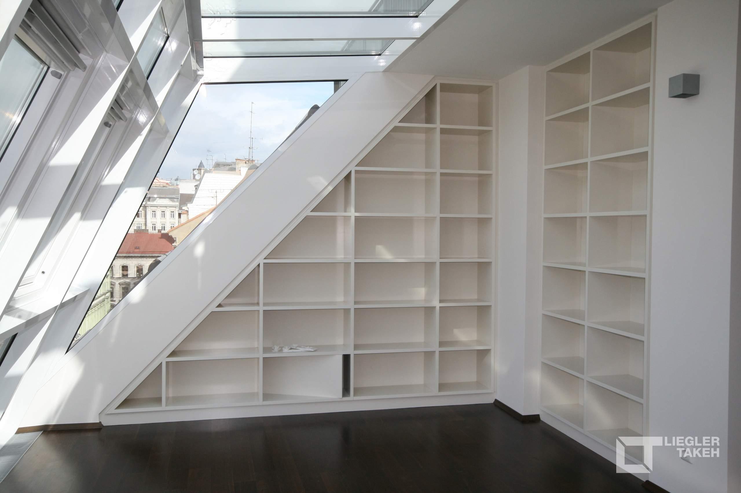 LIEGLER TAKEH ARCHITEKTEN Projekt Rüdigergasse Wohnung