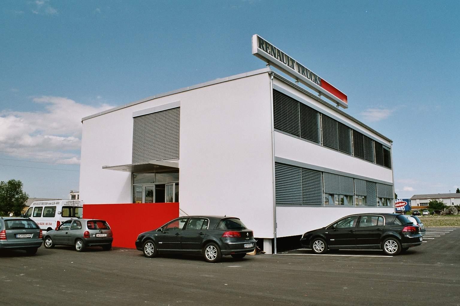 Liegler takeh architekten projekt renault trucks 03 for 03 architekten