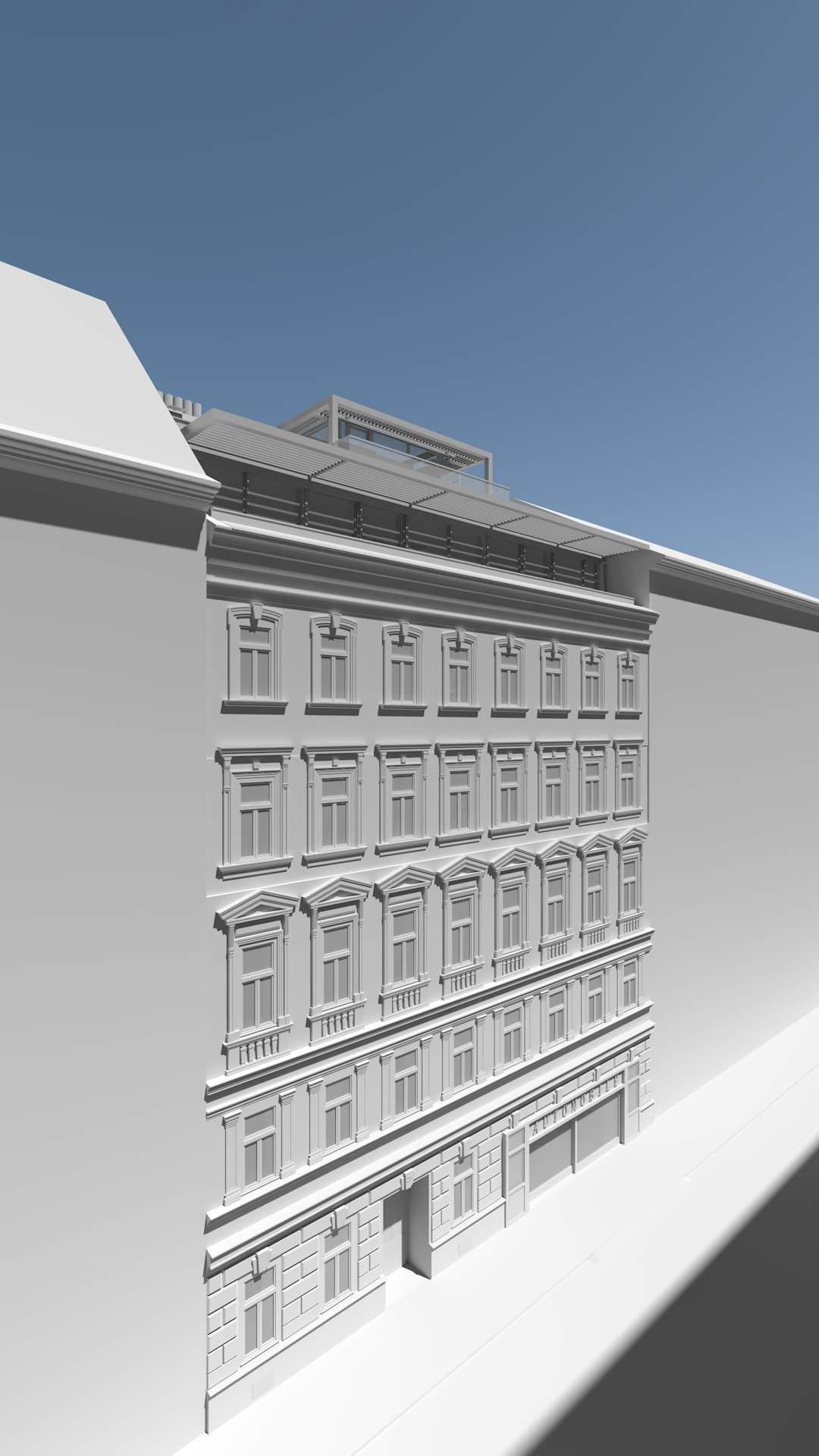LIEGLER TAKEH ARCHITEKTEN Projekt Untere Weißgerberstraße Visualisierung