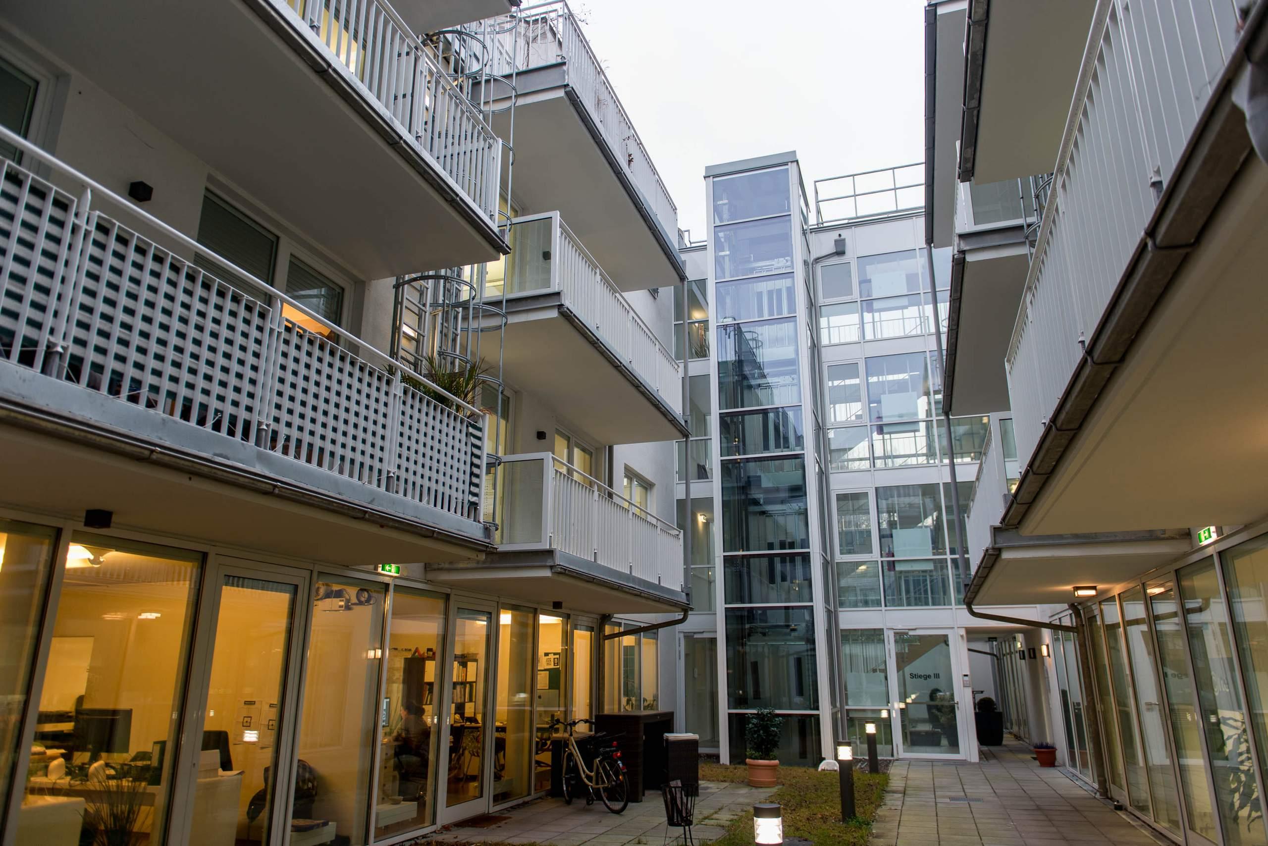 LIEGLER TAKEH ARCHITEKTEN Projekt Wiedner Hauptstraße 57 Innenhof Hoftrakt