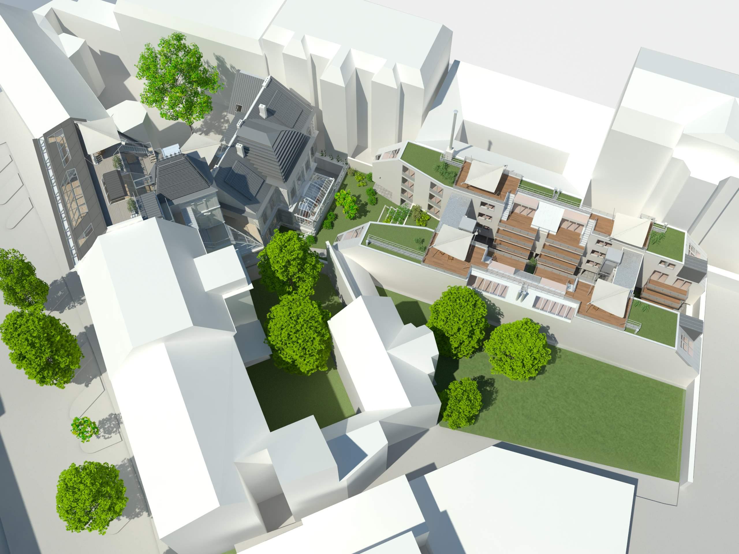 LIEGLER TAKEH ARCHITEKTEN Projekt Wiedner Hauptstraße 57 Visualisierung