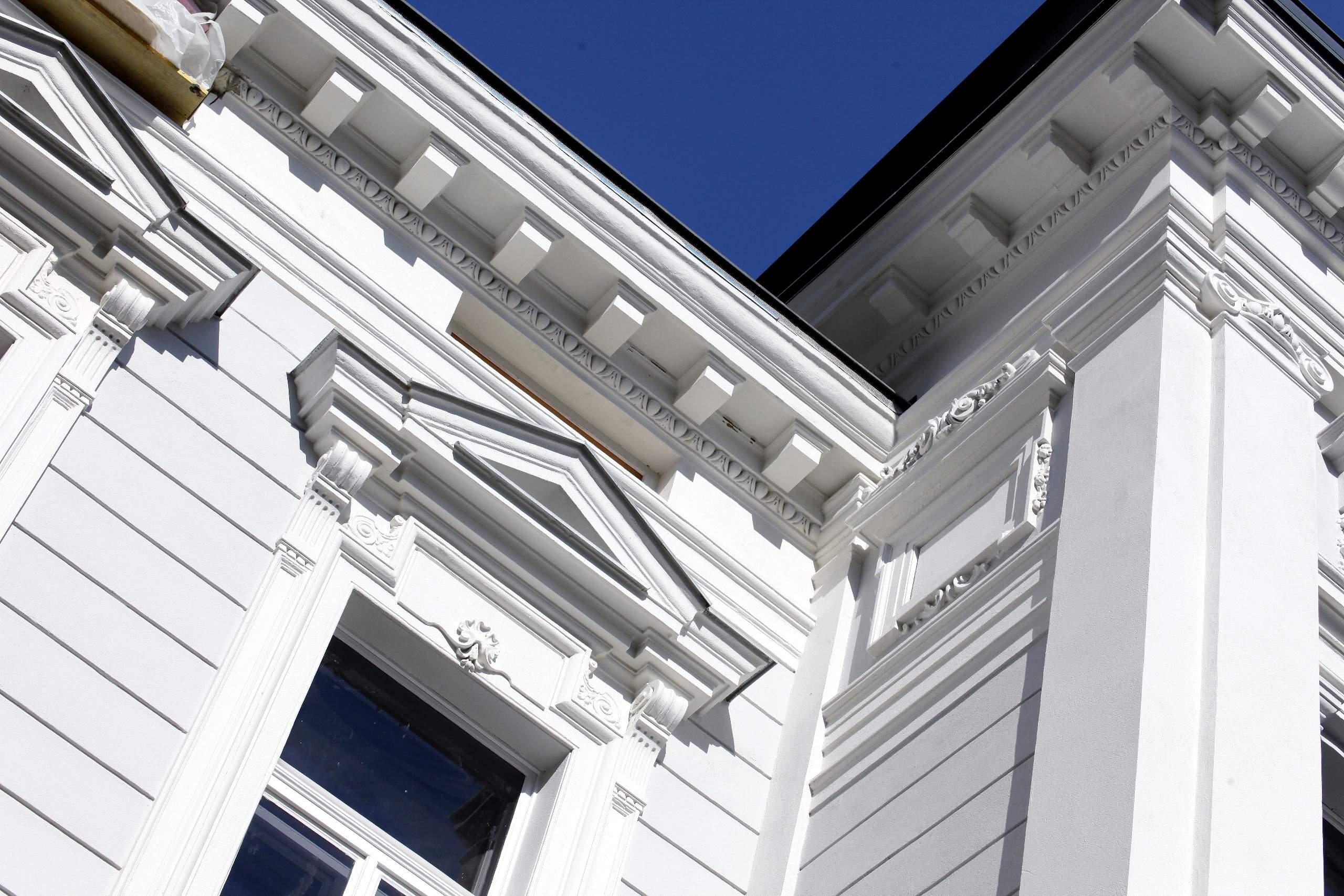 LIEGLER TAKEH ARCHITEKTEN Projekt Wiedner Hauptstraße 57 Fassade Detail