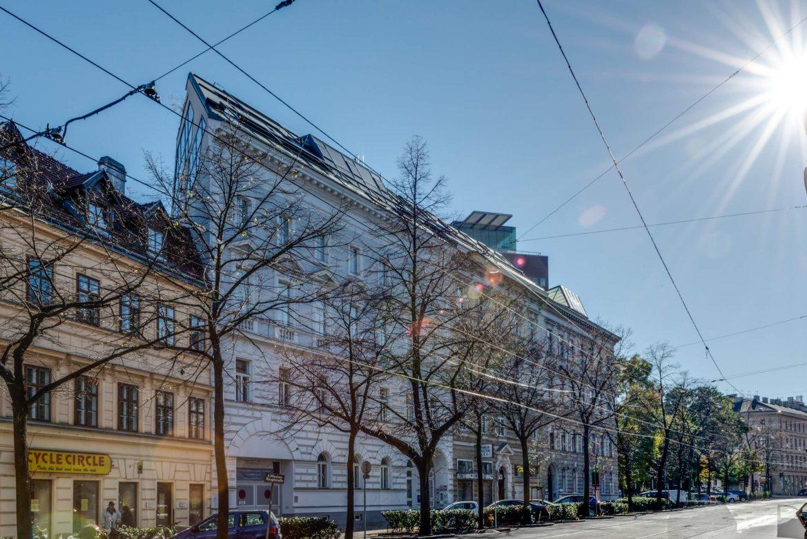LIEGLER TAKEH ARCHITEKTEN Projekt Wiedner Hauptstraße 57 Straßenansicht
