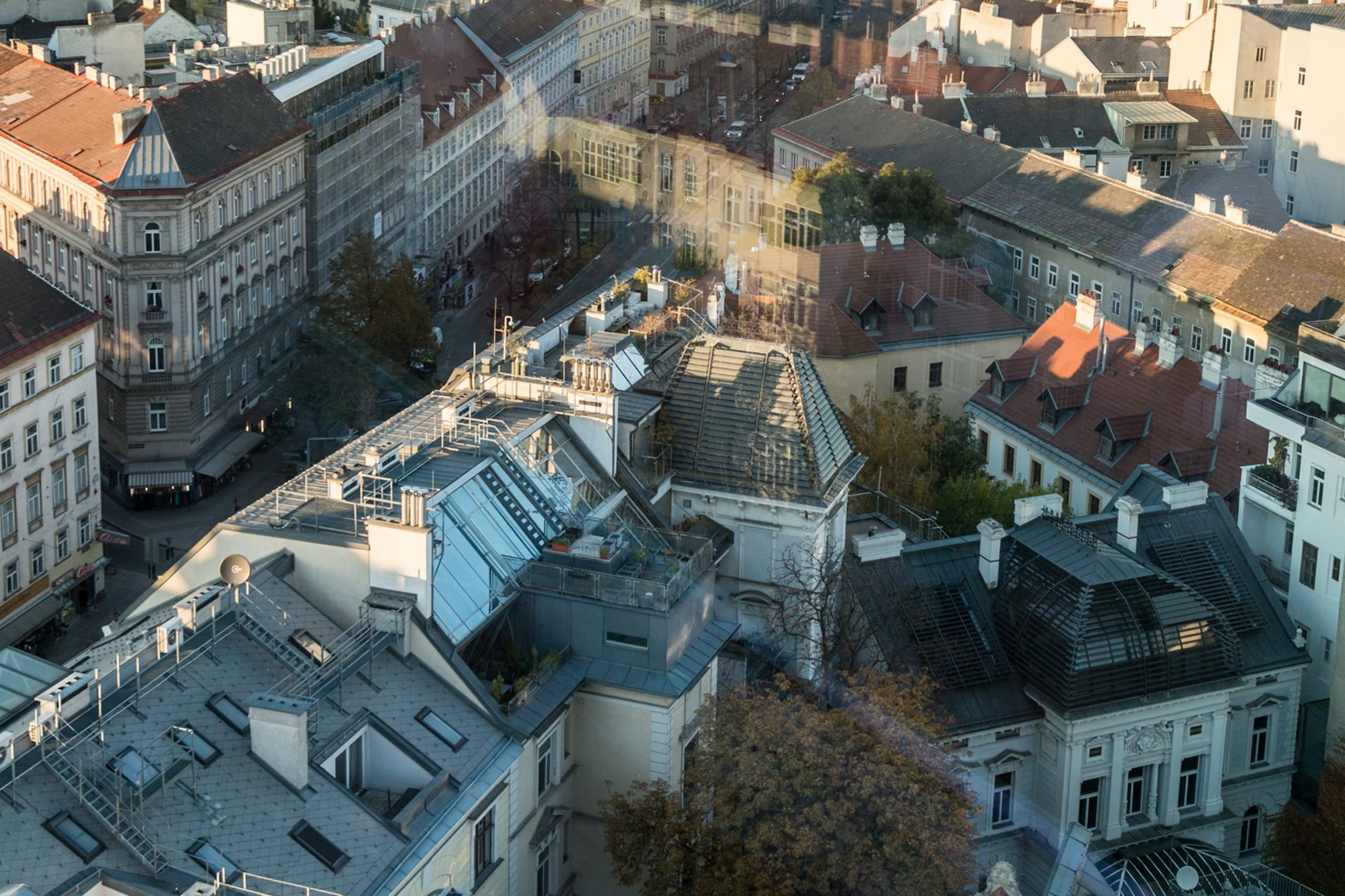 LIEGLER TAKEH ARCHITEKTEN Projekt Wiedner Hauptstraße 57 und 59 Blick von WKO