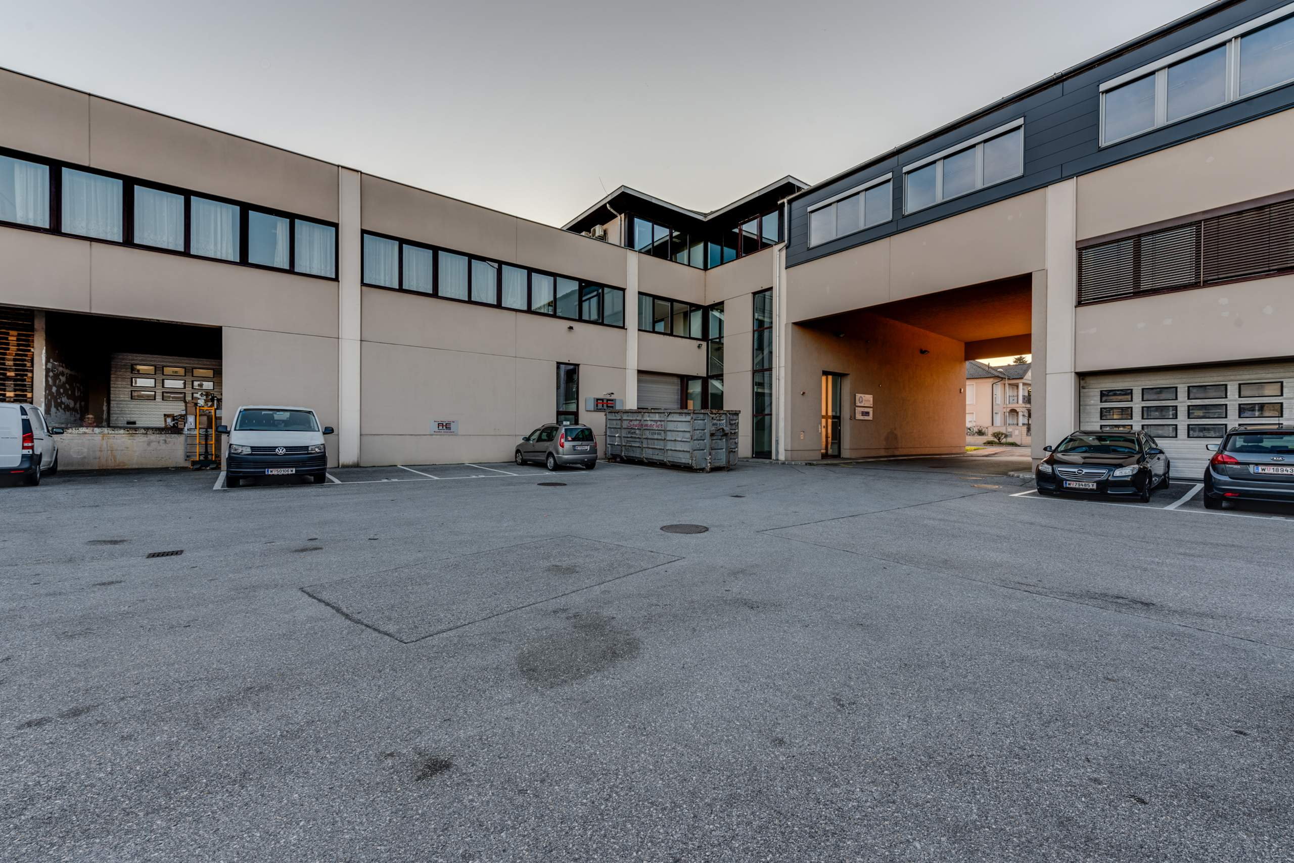 LIEGLER TAKEH ARCHITEKTEN Projekt Zetschegasse Innenhof