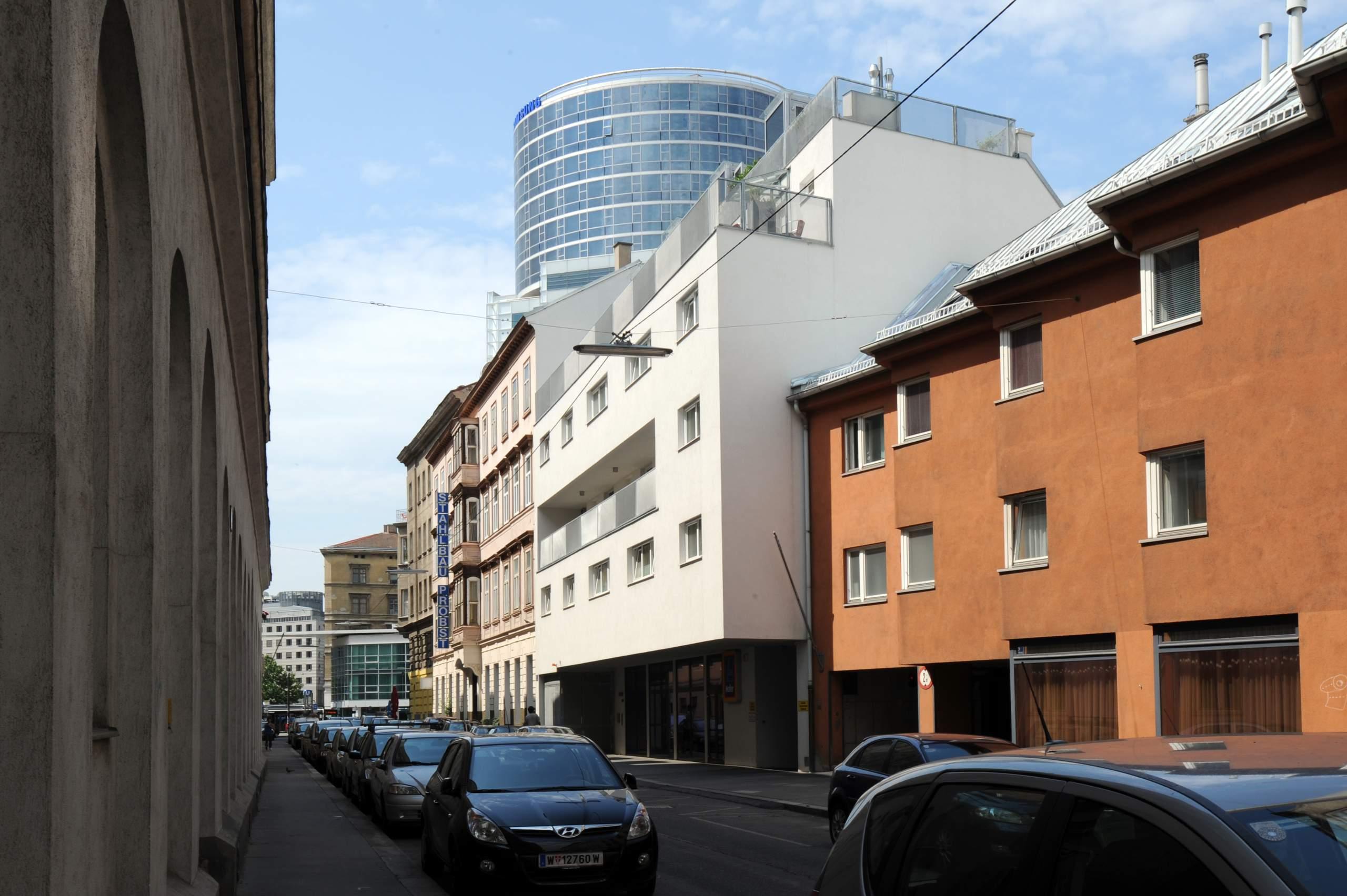 LIEGLER TAKEH ARCHITEKTEN Projekt Zirkusgasse Fassade Weintraubengasse