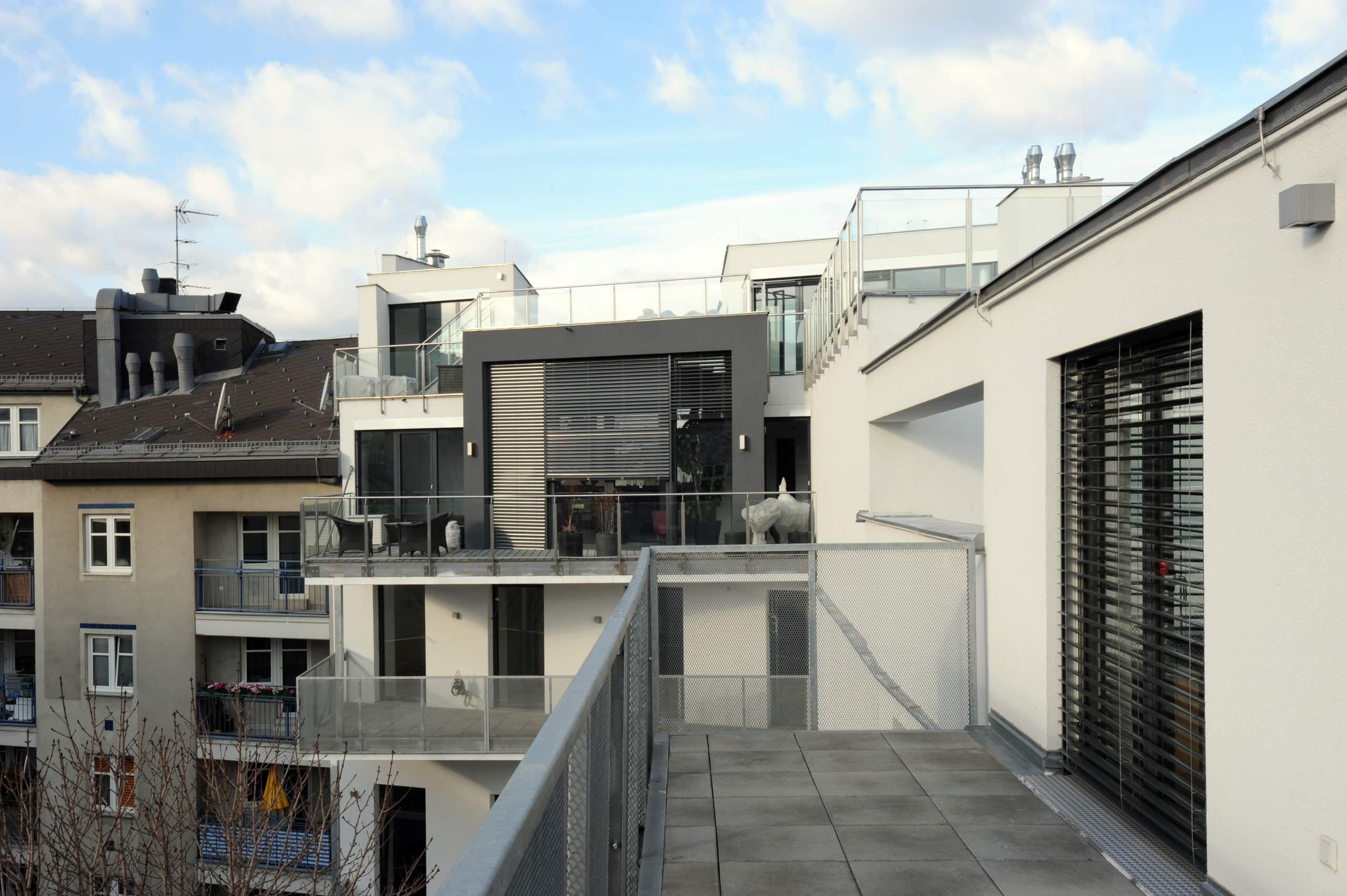 LIEGLER TAKEH ARCHITEKTEN Projekt Zirkusgasse Balkone