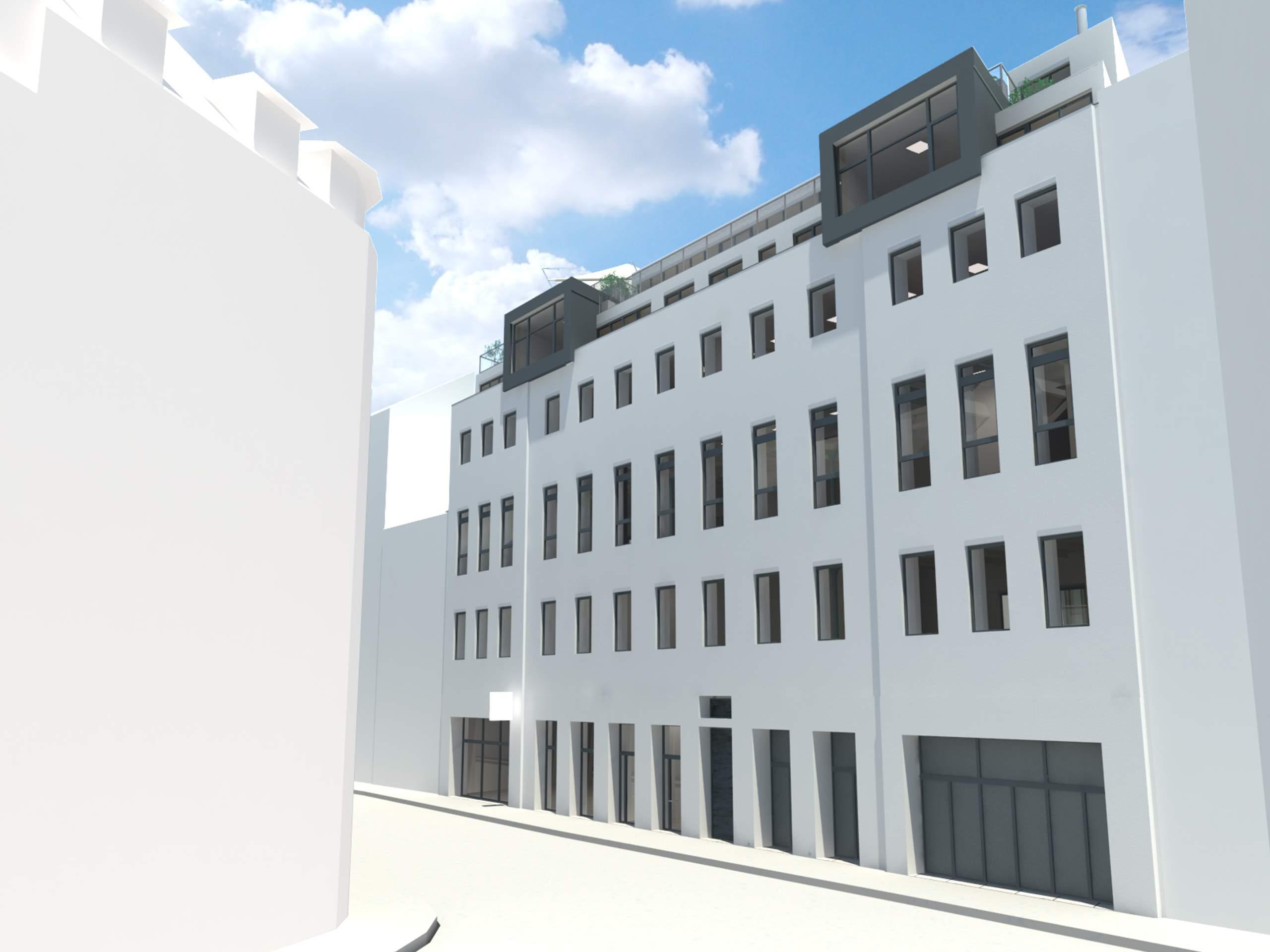 LIEGLER TAKEH ARCHITEKTEN Projekt Zirkusgasse Visualisierung